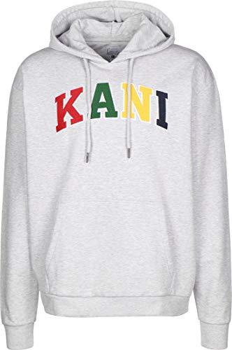 Karl Kani Serif Hoodie ash Grey