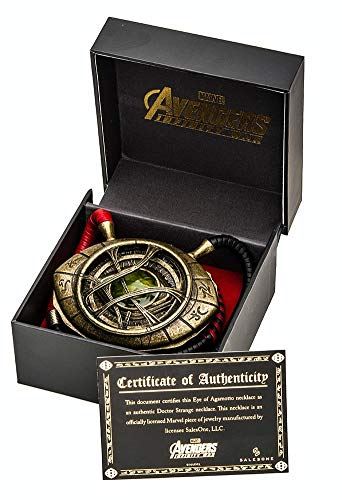 Doctor Strange Eye of Agamotto Prop Replica Necklace - 1/1 Scale -...