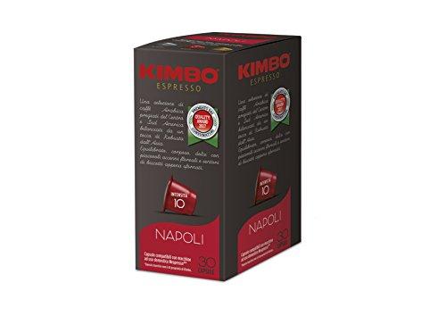 Kimbo Napoli -Intensität 10- Nespresso®* kompatible Kapseln, (240 Kapseln)