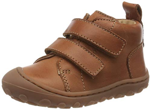 Bisgaard Unisex Kinder Gerle Klett Sneaker, Braun (Cognac 66), 22 EU