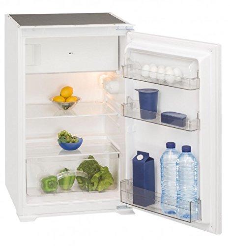 Exquisit EKS 131-4.2 A++ Einbau-Kühlschrank mit Gefrierfach - 88er Nische, Schlepptür-Technik, A++