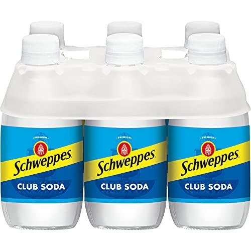 Schweppes Club Soda, 10 Fl Oz (pack of 6)