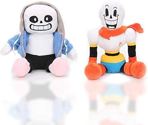 Undertale Sans Papyrus Plush Figure Toy Stuffed Toy Doll Toys for Kids Children