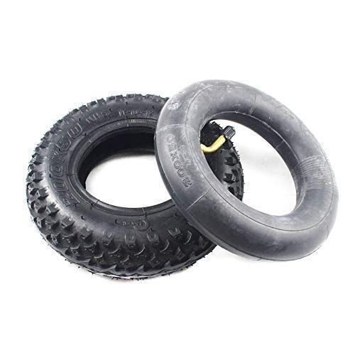 DIEFMJ Neumáticos para Scooter eléctrico, 200 x 50 (8 Pulgadas), Apto para Scooter eléctrico de Gas y Scooter eléctrico (Tubo Interior Incluido) Rueda para Silla de Ruedas