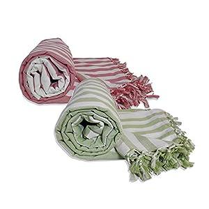 Riyashree Organic Cotton Silky Soft Bhagalpuri Dull chadar Blanket & Duvet ( 53*96 in ) Combo Pack of 2 Dull 01 02