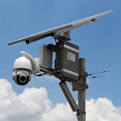 GOING tech Profesional de la cámara de seguridad solar al aire libre...