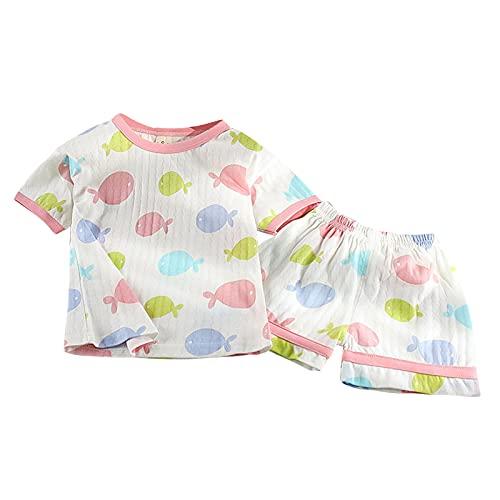 Briskorry T-shirt d'été pour fille - Motif coréen -...