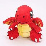 WSXF Pokemon De Peluche De Juguete 16Cm Dragonvale Juguetes De Peluche Dragón De Fuego Rojo Dragonite Charizard Charmander Juguetes De Peluche Muñeca Regalos De Dibujos Animados para Niños