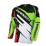 UGLYFROG Camisetas Hombre Manga Larga MTB Downhill Jersey Mountain Bike Ropa, Motocicleta Jersey Mountain Mountain Shirt XHDJ06