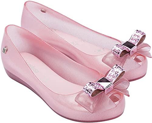 mini melissa Girl's Ultragirl Stars (Little Kid/Big Kid) Glitter Pink 3 Little Kid M