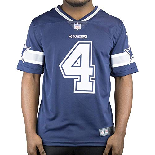 Dallas Cowboys NFL Dak Prescott Mens Nike Limited Jersey, Navy, X-Large