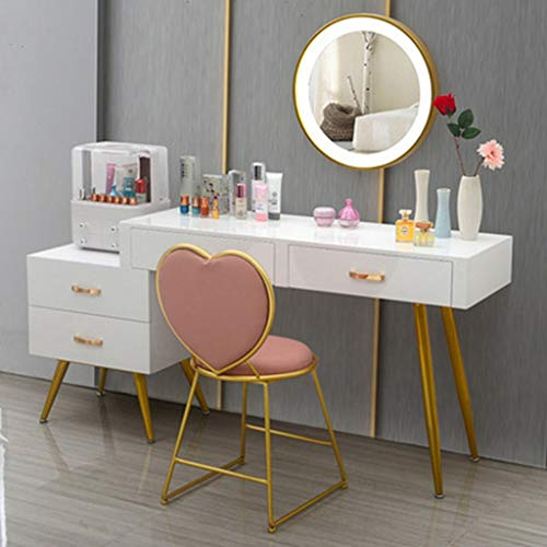 LED Vanity Mirror,Makeup Table Set with...