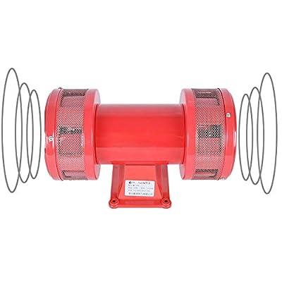 160db Motor Driven Air Raid Siren Metal Horn Industry Boat Alarm (110V)