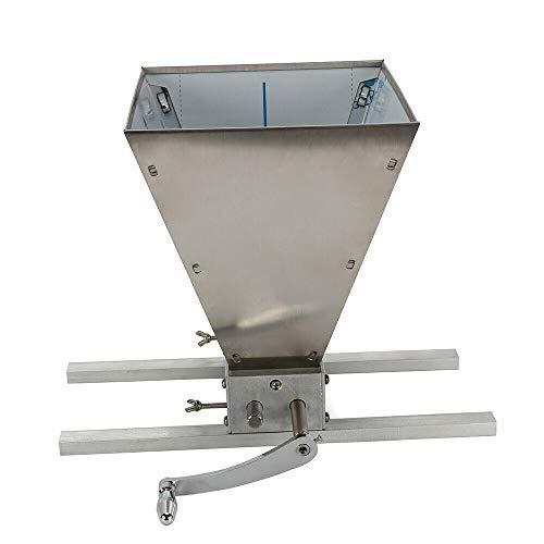 Getreidemühle Verstellbare Schrotmühle Malzmühle Heimbrauer Mais Mühle flocker