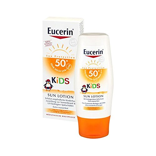 Eucerin Sensitive Protect Kids Sun Lotion LSF 50+, 150 ml Lotion