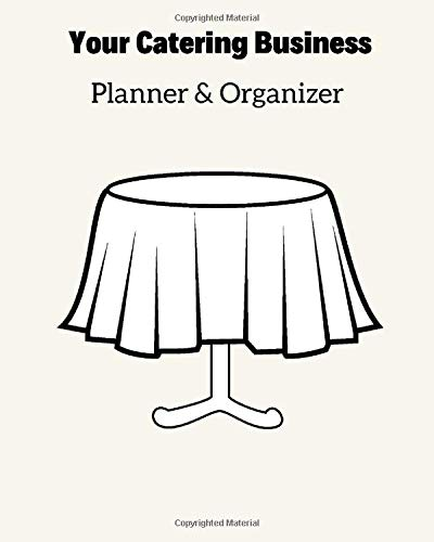 Your Catering Business Book Planner & Organizer