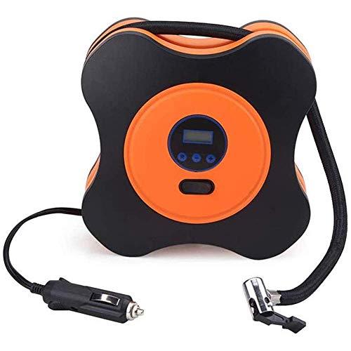 YLJYJ Bombas de Aire para automóvil, con Adaptador de Boquilla de inflado Bomba de inflado de neumáticos de automóvil Digital portátil de 12 V Adecuado para automóviles pequeños y medianos (Piscina)