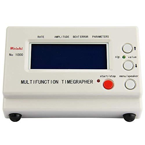 Vogvigo Máquina de Sincronización de Relojes Timegrapher NO.1000 Multifunción Herramientas de Reparación de Probadores,Mecánico Reloj Tester Mecánico de Reparación Calibración