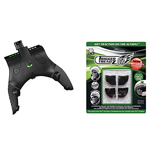 Collective Minds Strike Pack Eliminator Mod Pack - Xbox One & Snakebyte Trigger Treadz - Original 4-Pack for (Xbox One) - Anti Slip Trigger Rubbers - Finger Grips - Xbox One Controller Accessories