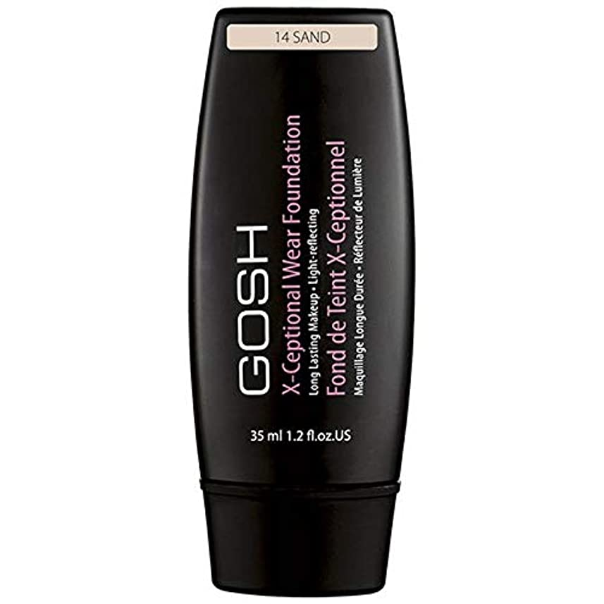 アプト副詞効能[GOSH ] おやっX-Ceptional砂14を構成して着用 - Gosh X-Ceptional Wear Make Up Sand 14 [並行輸入品]