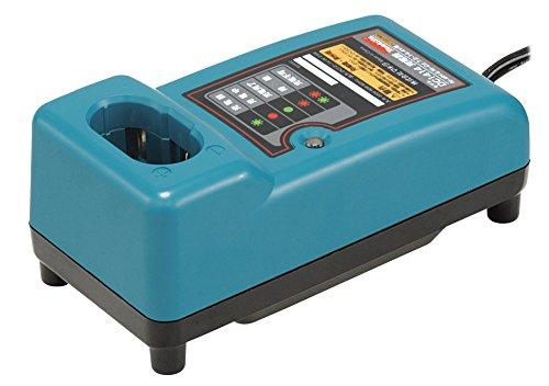 MAKITA 193864-0 193864-0-Cargador rapido para baterias 7.2V y 14.4V ni-cd/ni-mh corriente de carga 2.6 Ah dc1414, 0 V, Negro/Turquesa