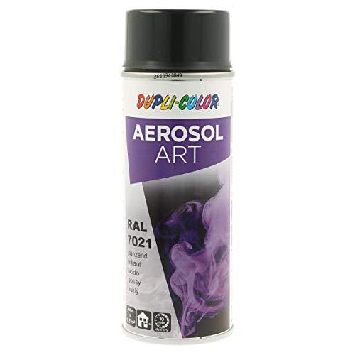 DUPLI-COLOR 741296 Aerosol Art, RAL 7021 schwarzgrau Glänzend