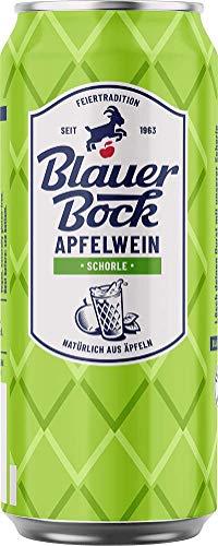 Blauer Bock Apfelwein Schorle 24x 0,5 Liter