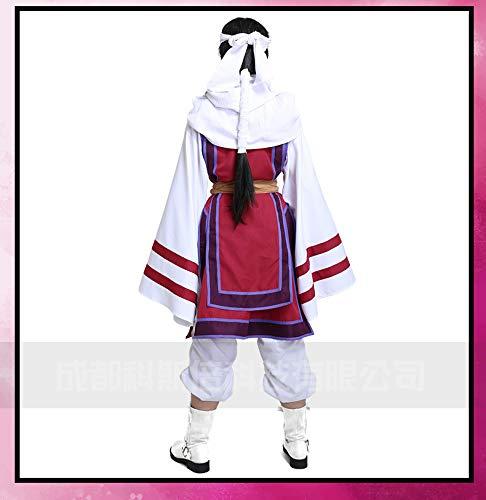 『キングダム 羌瘣 cosplay服 コスプレ アニメ 服のセット 女性用 秦國 飛信隊 (M)』の2枚目の画像