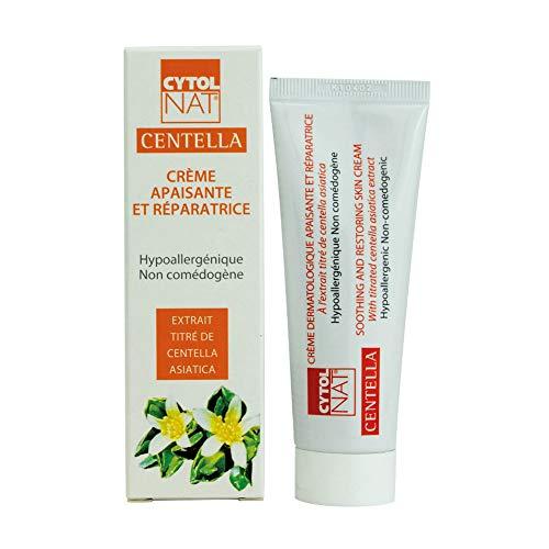 CYTOLNAT® Centella 50 ml, Crema Riparatrice e Lenitiva - Centella Asiatica – Ipoallergenica e non comedogenica