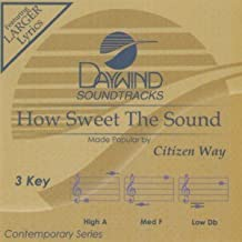 How Sweet The Sound Accompaniment/Performance Track  Daywind Soundtracks Contemporary