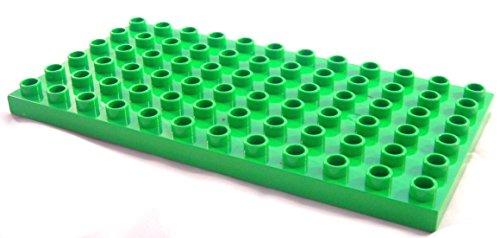 LEGO Duplo - Bauplatte Platte mit 6x12 Noppen in grün