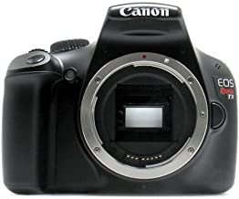 Canon EOS Rebel T3 12.2 MP CMOS Digital SLR Camera and DIGIC 4 Imaging (Body) - with 1-Year USA Warranty