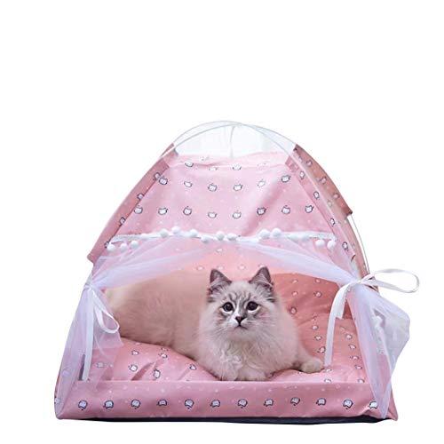 Hundezelt I Luxus-Katzenhöhle I Hunde-Schlafplatz I Hundekorb I Hochwertiger Katzenkorb I Katzen-Zelt | Hundebett (S, Style 5)