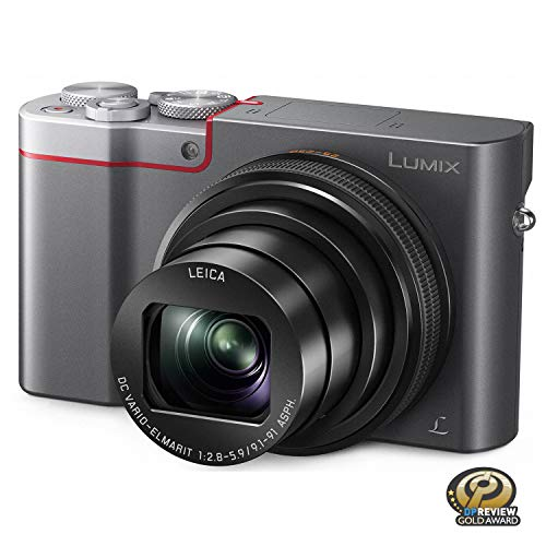 PANASONIC LUMIX ZS100 4K Point and Shoot Camera, 10X LEICA DC Vario-ELMARIT F2.8-5.9 Lens with Hybrid O.I.S., 20.1 Megapixels, 1 Inch High Sensitivity...