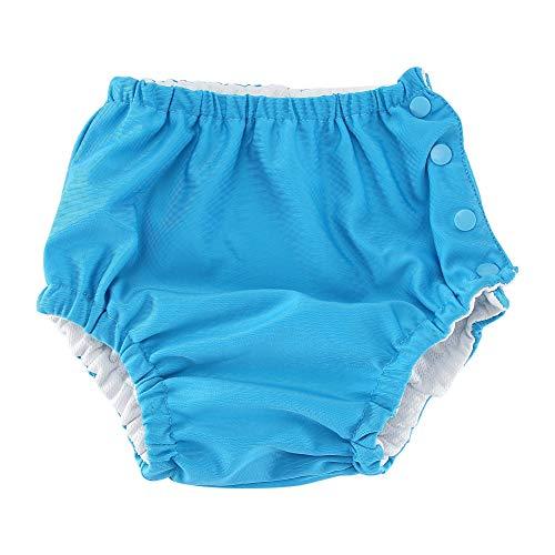 Baby zwembroek, baby herbruikbare zwemluier wasbaar snap badpak luier voor meisjes jongens