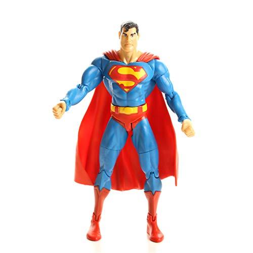 YSDHE Juguete de Superman, Regalo de Recuerdo de Juguetes de articulación de Juguetes de Anime de Superman Modelo de articulación móvil