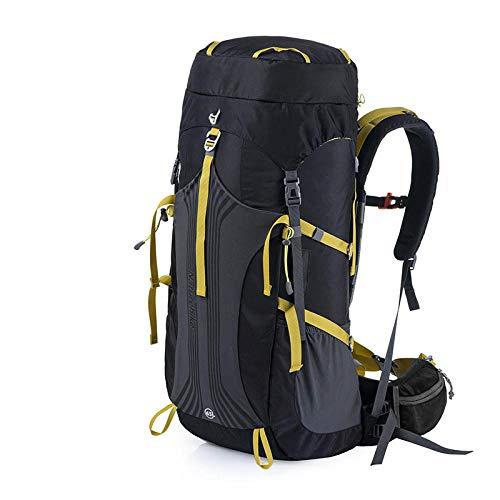 Topashe Mochila de Senderismo Cubierta Camping Deporte,Bolsa de montañismo al Aire Libre, Mochila de Senderismo con Gran Capacidad-D_45L,Mochila Trekking Escalada