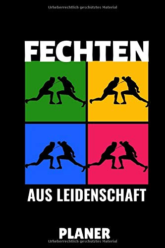 FECHTEN ADRENALINE MIXED MARTIAL ARTS AUS LEIDENSCHAFT PLANER: A5 TAGESPLANER Fechten Buch | Kampfkunst Bücher | Schwertkampf | Selbstverteidigung | ... für Kinder und Erwachsene | Fechter