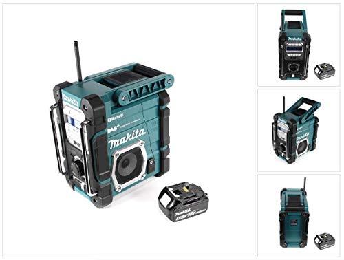 Makita DMR 112 F1 Akku Baustellen Radio 7,2-18V Bluetooth DAB+ + 1x 3,0Ah Akku - ohne Ladegerät
