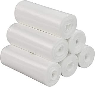 Utiao 150 Counts 4 Gallon Trash Bags, Bin Liners for Home, Office (6 Rolls)