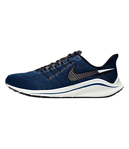 Nike Air Zoom Vomero 14 Men's Running Shoe Coastal Blue/MTLC Dark Grey-Black Size 13