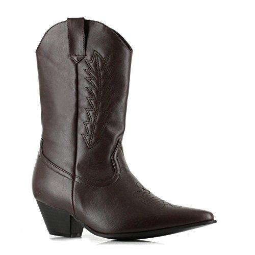Ellie Zapatos Inc Unisex niño Cowboy Botas