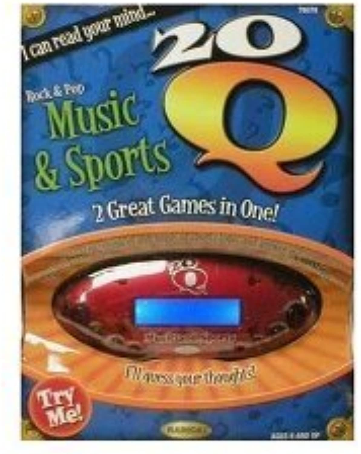 20Questions gold Sports and Music by Radica Games