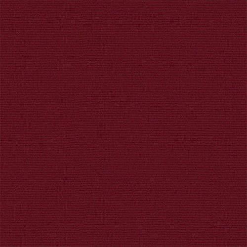 Tela por metros de loneta lisa - Ancho 280 cm - Largo a elección de 50 en 50 cm | Granate oscuro