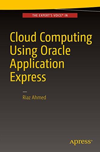 Cloud Computing Using Oracle Application Express (English Edition)