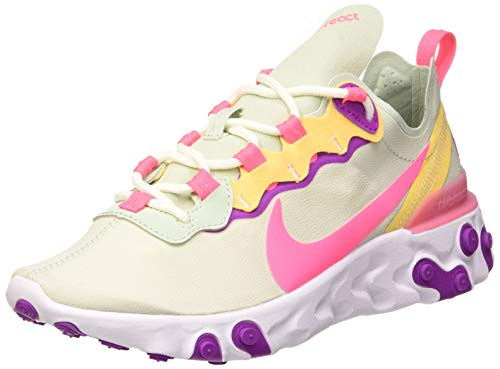 Nike React Element 55 Women's Shoe, Zapatillas para Correr Mujer, Pistachio Frost/Digital...