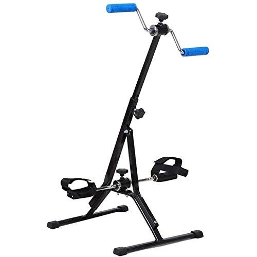 HMBB Ellittiche, Cardio Training Tapis roulant Step Fitness Macchine for la formazione di formazione ellittica Braccio e gamba Pieghevole Pedalo Pedali, Gym Regolabile Gym Attrezzatura for la formazio