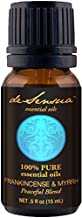 Frankincense and Myrrh Oil Blend, Peaceful and Relaxing Aromatherapy - 100% Pure Essential Oils (15 mL)