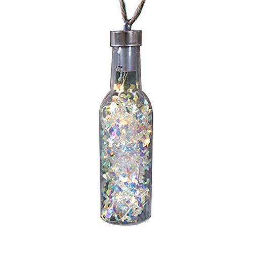 Christmas Lights Bottle|Wine Bottle Lights Hanging Lights - Christmas Tree, Party Halloween Decor, Bottle-Shaped Lights