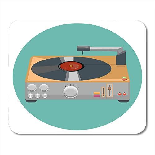 Muispads plafond platenspeler Grammofone Het 80 'S stereo-systeem in klassiek design